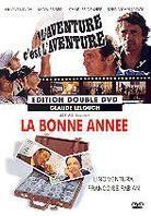 L'aventure c'est l'aventure / La bonne année (Box, 2 DVDs)