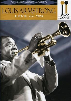 Louis Armstrong - Live in '59 (Jazz Icons)
