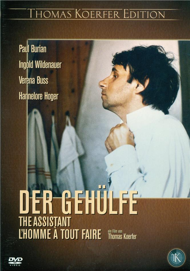 Der Gehülfe - The Assistant (Thomas Koerfer Edition)