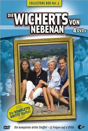 Die Wicherts von Nebenan - Staffel 3 (Box, Collector's Edition, 4 DVDs)