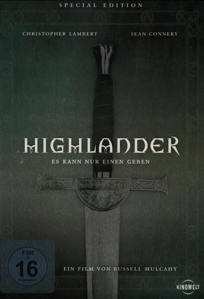 Highlander - Es kann nur einen geben (1986) (Special Edition, Steelbook, 2 DVDs)