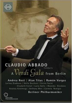 Berliner Philharmoniker, Claudio Abbado, … - A Verdi Gala from Berlin (Euro Arts)