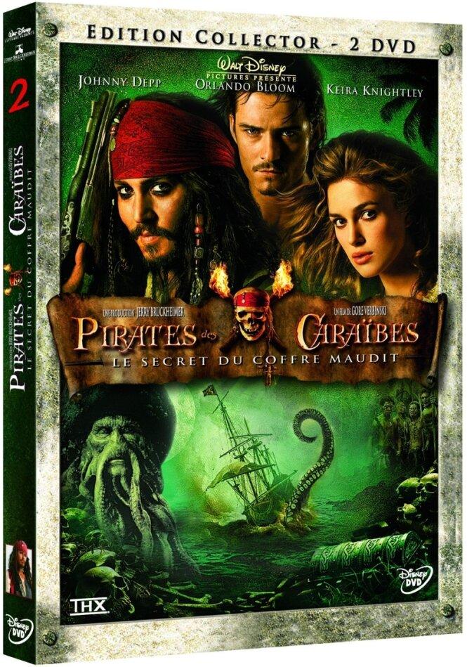 Pirates des Caraïbes 2 - Le secret du coffre maudit (2006) (Collector's Edition, 2 DVDs)