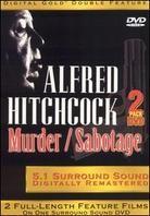 Alfred Hitchcock - Murder / Sabotage (2 DVDs)