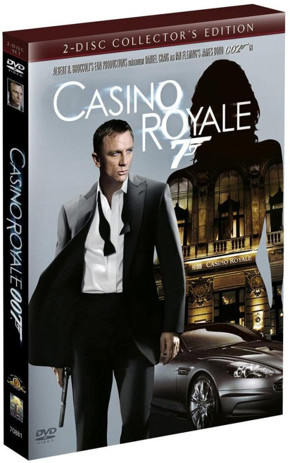 James Bond: Casino Royale (2006) (Collector's Edition, 2 DVD)