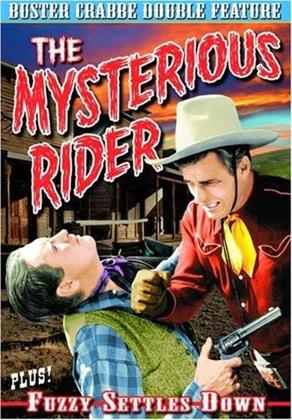 The Mysterious Rider / Fuzzy Settles Down - Buster Crabbe Double