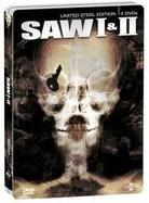 Saw 1 & 2 (Limited Edition, Steelbook, 3 DVDs)