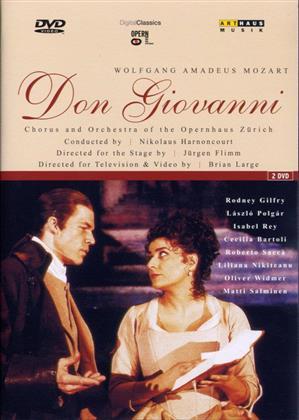 Opernhaus Zürich, Nikolaus Harnoncourt, … - Mozart - Don Giovanni (Arthaus, 2 DVDs)
