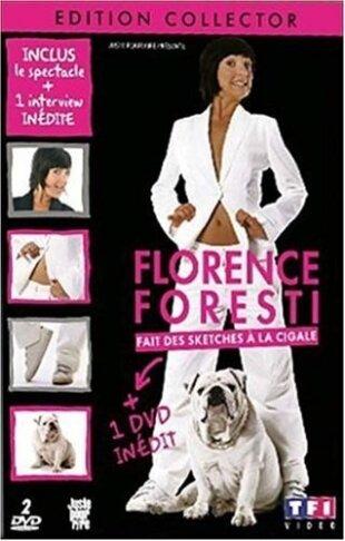 Florence Foresti - Fait des sketches à la Cigale (Collector's Edition, 2 DVDs)