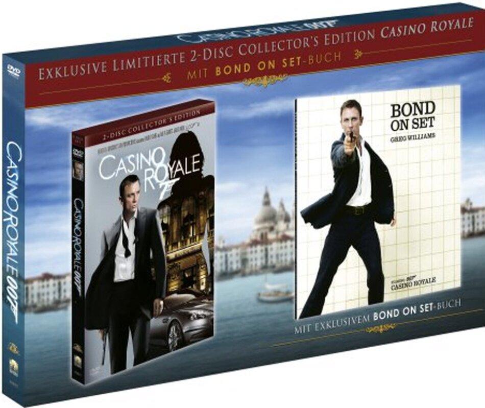 James Bond: Casino Royale - (Collector's Edition 2 DVDs + Bond on Set Buch) (2006)