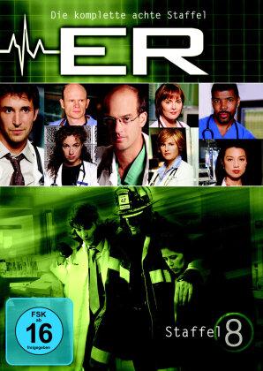 ER - Emergency room - Staffel 8 (6 DVDs)