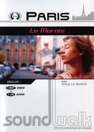 Paris - Le Marais - Soundwalk (DVD + CD)