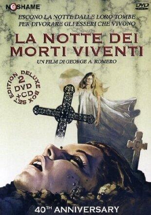 La notte dei morti viventi (1968) (40th Anniversary Edition, 2 DVDs + CD)