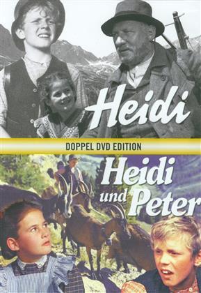 Heidi / Heidi und Peter - Doppel DVD Edition (Limited Edition, Restaurierte Fassung, 2 DVDs)