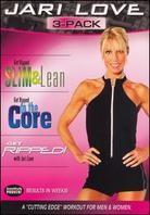 Jari Love 3-Pack - Get Ripped/Get Ripped to the Core/Get Ripped Slim