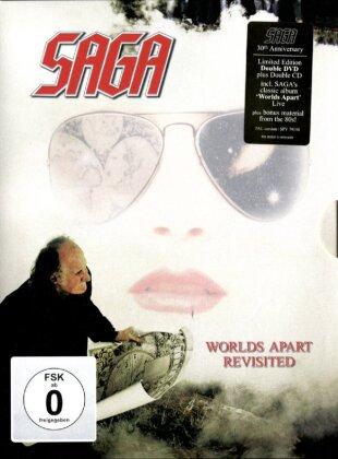 Saga - World's Apart Revisited (Edizione Limitata, 2 DVD + 2 CD)