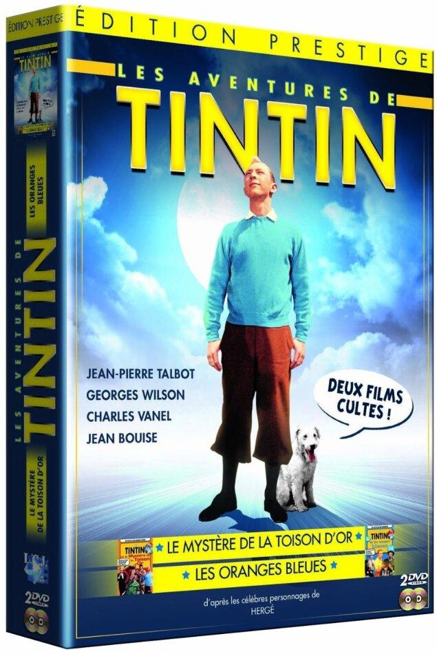 Les aventures de Tintin - Tintin et les oranges bleues / Tintin et le mystère de la toison d'or (2 DVD)
