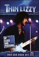 Thin Lizzy - Up Close & Personal (Inofficial, DVD + Book)