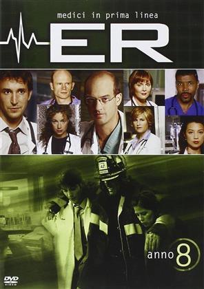 ER - Medici in prima linea - Stagione 8 (3 DVD)
