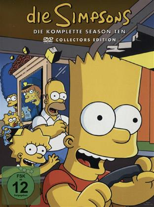 Die Simpsons - Staffel 10 (Collector's Edition, 4 DVDs)