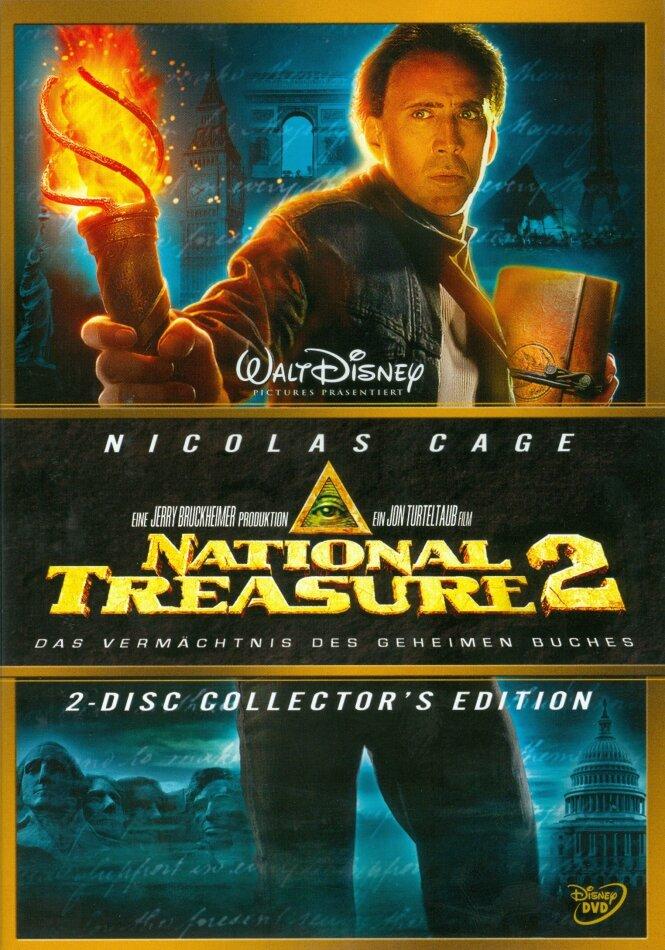 National Treasure 2 - Das Vermächtnis des geheimen Buches (2007) (Collector's Edition, 2 DVDs)