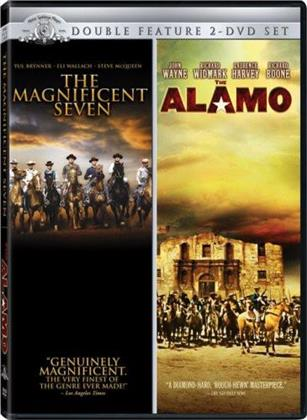 The Magnificent Seven (1960) / The Alamo (1960) (Double Feature, 2 DVD)