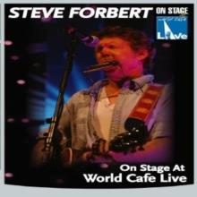 Forbert Steve - On Stage at World Cafe Live