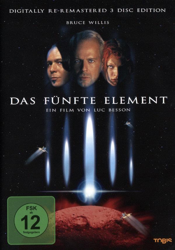 Das fünfte Element (1997) (Remastered, Special Edition, 3 DVDs)