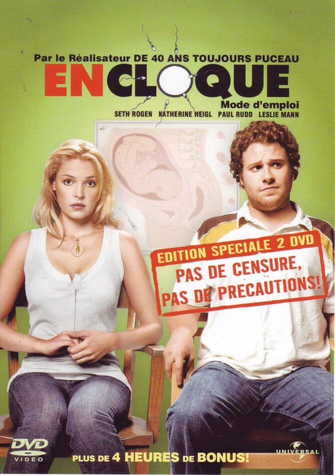 En cloque, mode d'emploi (2007) (2 DVDs)