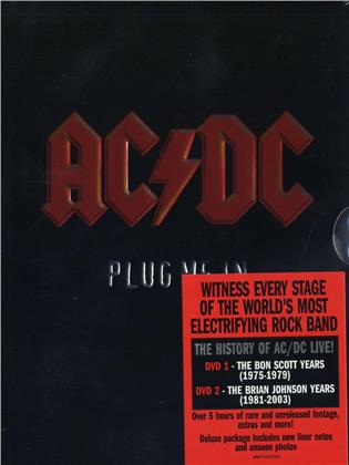 AC/DC - Plug me in (2 DVDs)