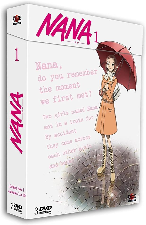 Nana - Box 1/5 (Deluxe Edition, 3 DVDs)