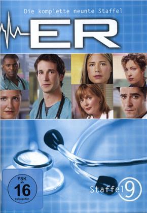 ER - Emergency Room - Staffel 9 (3 DVDs)
