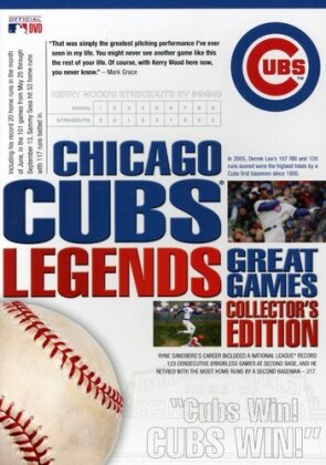MLB: Legends - Chicago Cubs (Collector's Edition, 8 DVD)