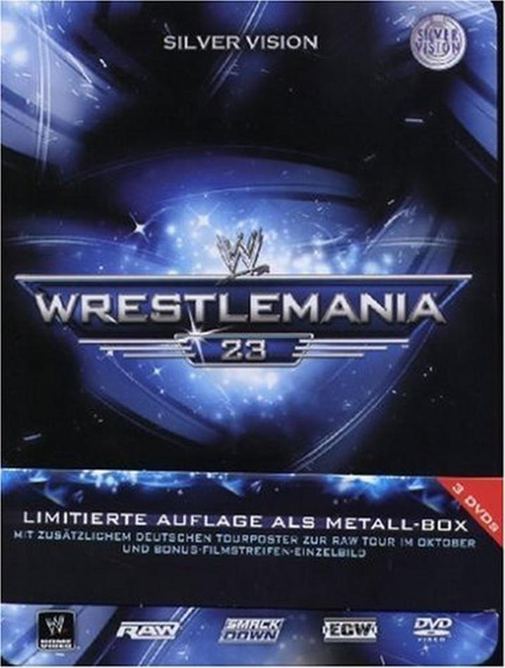 WWE: Wrestlemania 23 (Limited Edition, Steelbook, 3 DVDs)