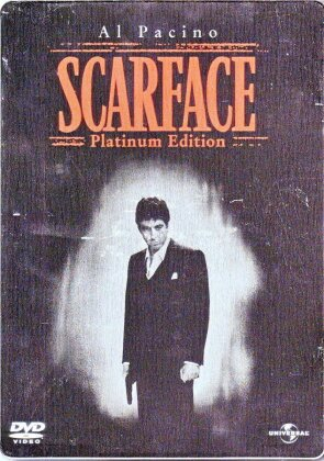Scarface (1983) (Platinum Edition, Steelbook, 2 DVD)