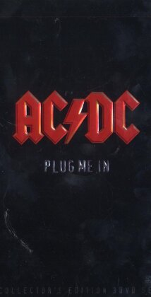 AC/DC - Plug me in (Limited Collector's Edition, 3 DVDs)