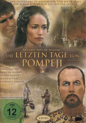 Die letzten Tage von Pompeji (Remastered, 3 DVDs)