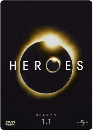 Heroes - Staffel 1.1 (Steelbook, 4 DVDs)