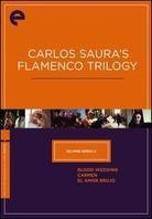 Carlos Saura's Flamenco Trilogy -  (Criterion Collection, 3 DVDs)