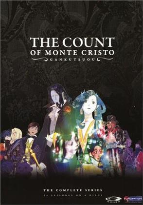 Gankutsuou - The Count of Monte Cristo - The complete Set (2004) (Uncut, 4 DVD)
