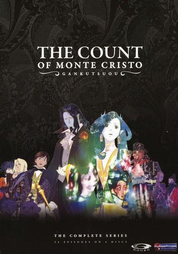Gankutsuou - The Count of Monte Cristo - The complete Set (2004) (Uncut, 4 DVD)