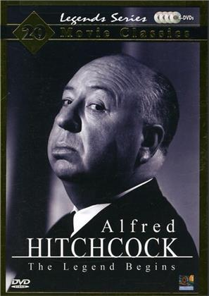 Alfred Hitchcock - The Legend Begins (Collector's Edition, 4 DVDs)