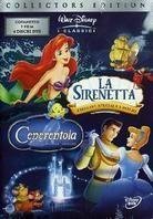 La Sirenetta / Cenerentola (Steelbook, 4 DVDs)