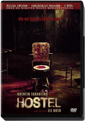 Hostel (2005) (Deluxe Edition, Uncut, 2 DVDs)