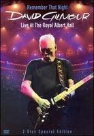 David Gilmour - Remember That Night - Live from Royal Albert Hall