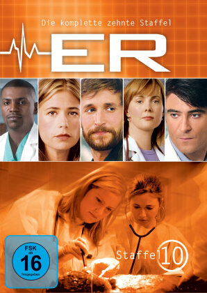 ER - Emergency Room - Staffel 10 (6 DVDs)