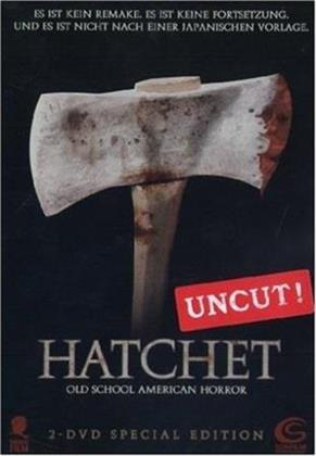 Hatchet (2006) (Special Edition, Steelbook, 2 DVDs)