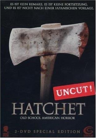Hatchet (2006) (Special Edition, Steelbook, 2 DVDs)
