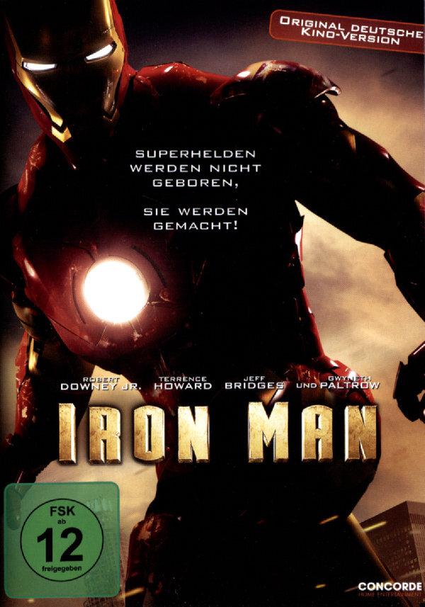 Iron Man - (Original Kinoversion) (2008)