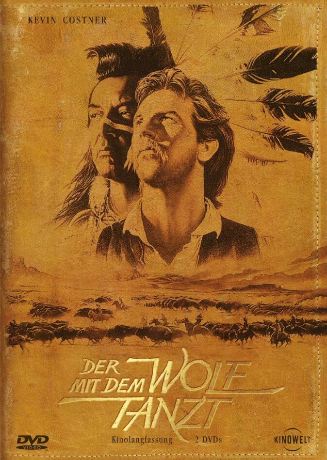 Der mit dem Wolf tanzt - (Kinolangfassung 2 DVDs) (1990)